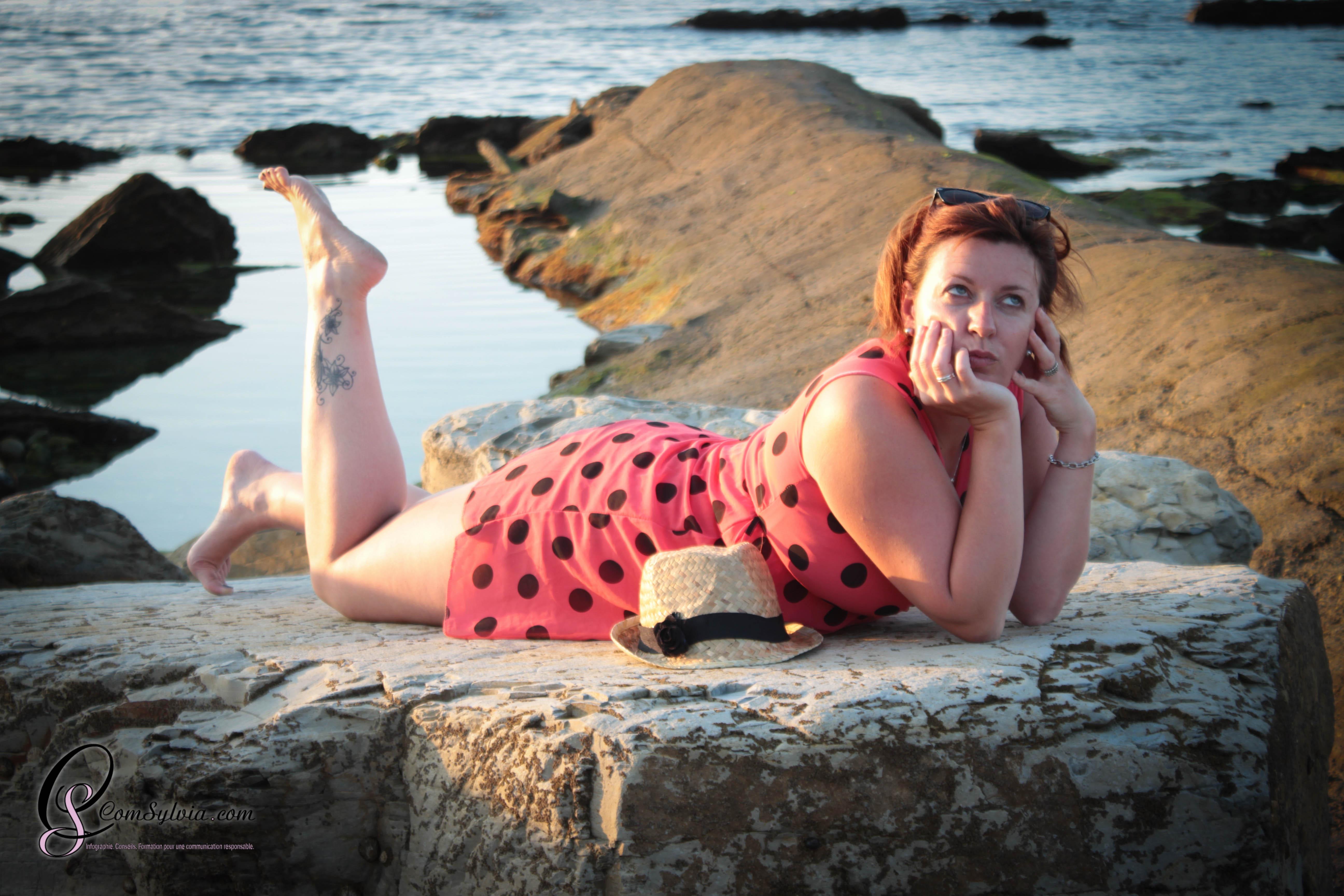 Natacha au bord de Mer…